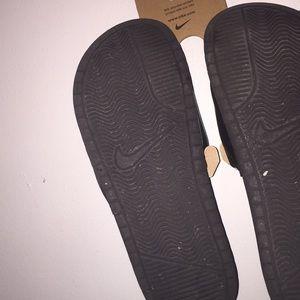 Nike Shoes - Nike slides!